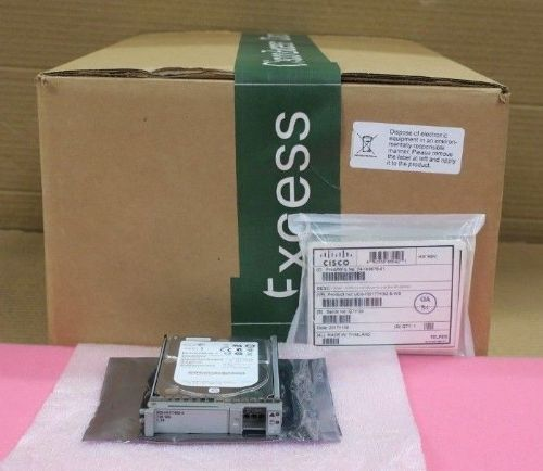 "10 x New Cisco UCS-HD1T7KS2-E 1TB 7.2k 2.5"" SAS Enterprise Hard Drive 9RZ268-175"